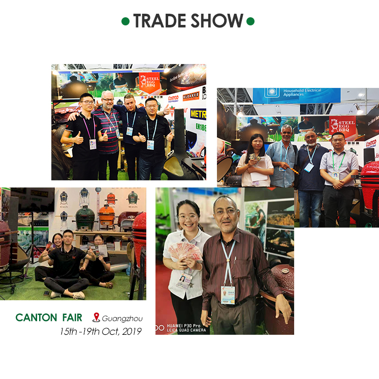 SEB KAMADO IN CANTON FAIR 2018